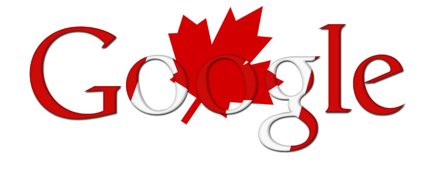 Google Doodle from Canada Day 2010