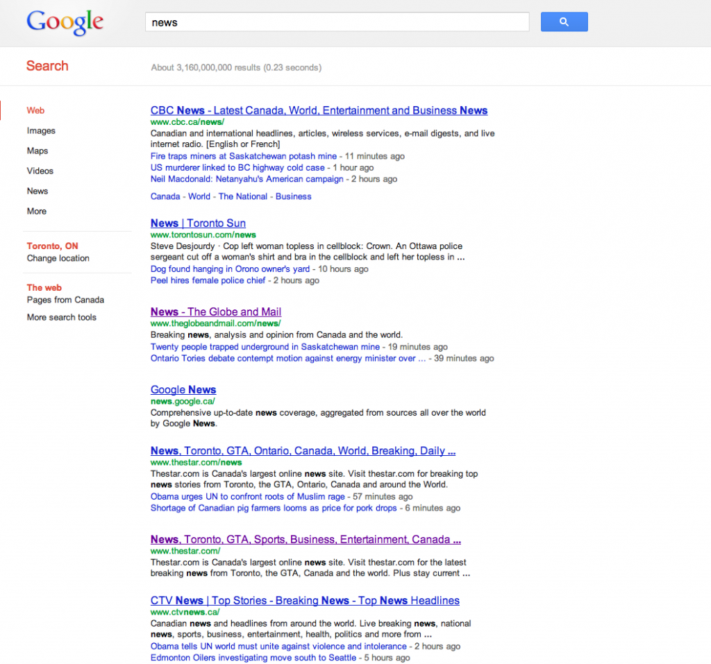 Screen Shot From Google.ca search for 'news' 2012-09-25 at 1.17.58 PM