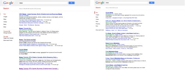 SEO: Google.ca Vs Google.com
